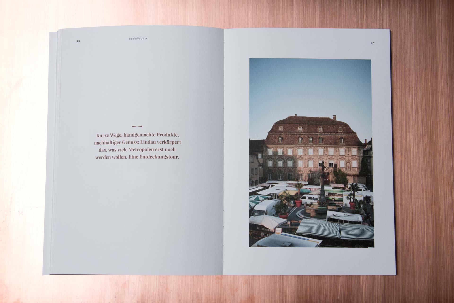 Broschüre für die Inselhalle Lindau, Editorial Design, Portraitheft, Bernhard Hafele